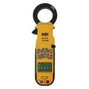 Uei Test Instruments Dl419 Clamp Meter digital 2000a