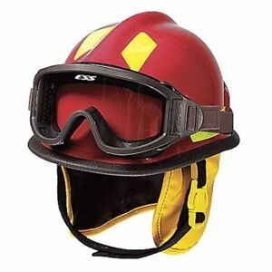 Cairns C mod b2b111200 Fire And Rescue Helmet Red Modern