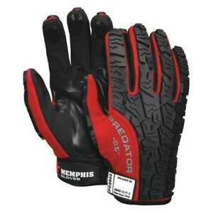 Mechanics Gloves xl red black pr Mcr Safety Pd2902xl
