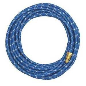 Water Hose 12 5 Ft 3 8m braided Rubber Miller Electric 45v07rbb