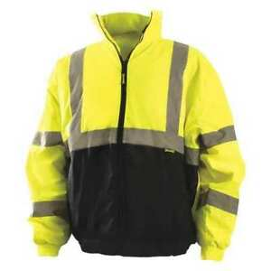 Occunomix Lux 250 jb by2x 2xl High Visibility Jacket Yellow