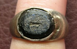 Ancient Artifact Roman Silver Finger Ring Sz 5 1 4 Us 16mm 14761 Dr