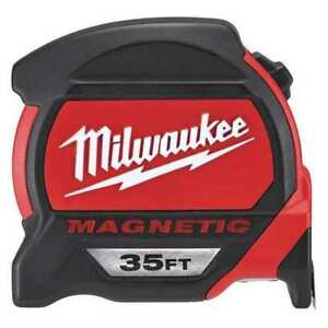 35ft Magnetic Tape Measure Double Sided Blue Print Milwaukee 48 22 7135