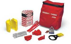 Brady Lkelo Portable Lockout Kit pouch 18 Components