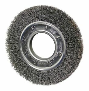 Wire Wheel Wire Brush 1 1 2 l 2 arbor Hole Osborn 22086