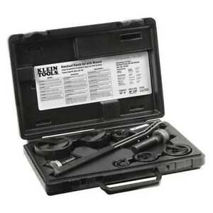 Knockout Punch Set With Wrench Klein Tools 53732sen