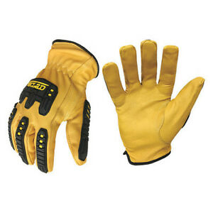 Impact Gloves xl leather tpr pr Ironclad G ild impc5 05 xl