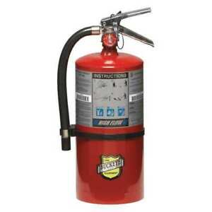 Buckeye 11350 Fire Extinguisher 1a 20b c Dry Chemical 10 Lb 21 h
