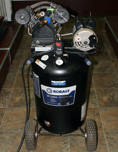 Kobalt 1 6 hp 30 gallon 155 Psi Electric Air Compressor Model 221495 Pickup Only