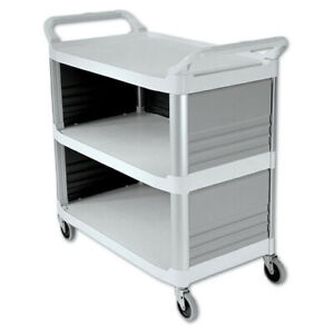 Rubbermaid 300 Lb Capacity 20 X 40 Xtra Utility Cart off wh 4093cre New