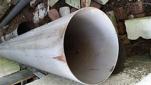 Stainless Steel Pipe 12 Dia
