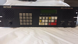 Zetron Model 4217b For 911 Dispatch Center Console Stand Alone Audio Panel