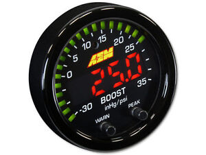 Aem 30 0306 X Series Boost Pressure Gauge 30 35psi