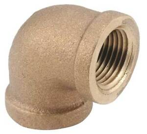 1 1 2 Fnpt Brass 90 Degree Elbow 82100 24