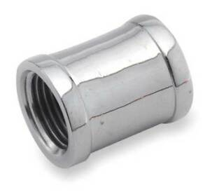 1 Fnpt Chrome Plated Brass Coupling 81103 16