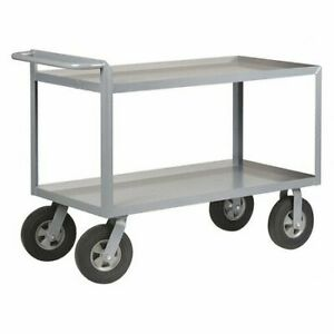 Little Giant Gl 2448 10sr Utility Cart steel 54 Lx24 W 1500 Lb G2137357