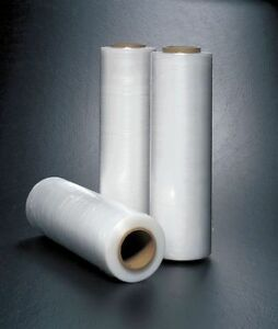 Hand Stretch Wrap clear 1500 Ft l 12in W G3983716