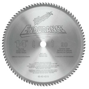 Milwaukee 14 Circular Saw Blade 90t 48 40 4510 New