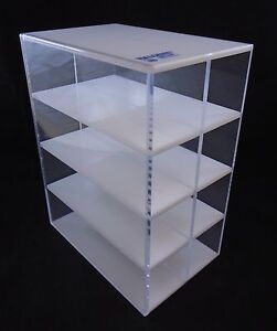 Nalgene Plastic Acrylic 8 slot Heavy Duty Clear Microcentrifuge Tube Rack Holder