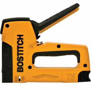 Bostitch 7 16 Crown 9 16 Powercrown Heavy duty Tacker Stapler T6 8oc2 New