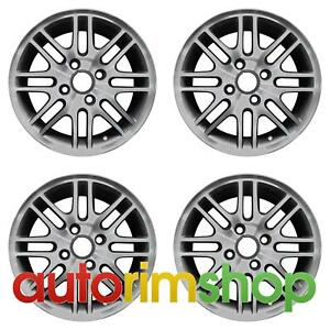 Ford Focus 2000 2011 15 Factory Oem Wheels Rims Set Machined With Charcoal