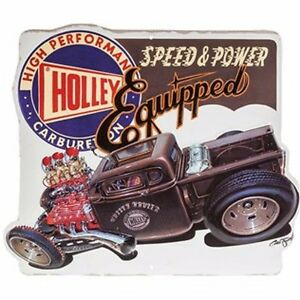 Holley Carburetor Tin Signs Man Cave