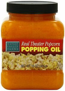 Wabash Valley Farms Real Theater Popcorn Popping Oil 16 ounce Jars pack Of 3