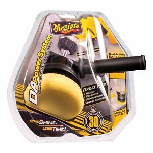Dual Action Car Polisher Power System Tool Attaches to Drill Meguiars G3500