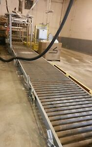 Super Sack Filling Fill Line Pallet Feeder Conveyors Control Work Way 2652wvs