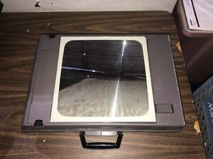 Audio Visual Division 3m Portable Overhead Projector 2000agt W a Lamp Light