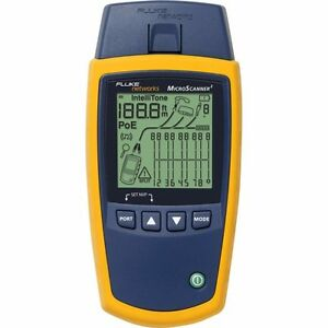 New Fluke Networks Ms2 100 Microscanner2 Cable