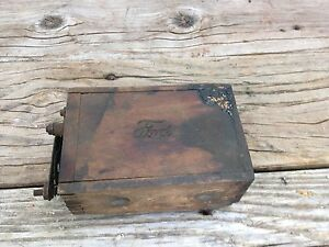 Antique Model T A Ford Wood Ignition Coil