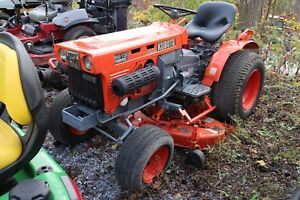 Kubota B6100 Compact Tractor W 3124hrs 16hp Hydro 2wd Repainted