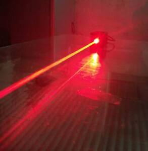 Focusable Real 1000mw 650nm Red Laser Module With Ttl 9v