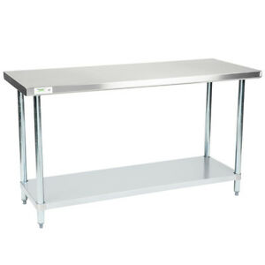 New Regency 24 X 60 Stainless Steel Work Prep Table Commercial R
