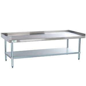 Stainless Steel Work Prep Table 30 X 60 Commercial Equipment Stand Regency