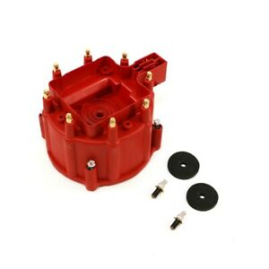 Msd Ignition 8411 Gm Chevy Stock Replacement Hei Distributor Large Cap Red V8
