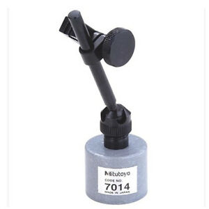 1pc Brand New Mitutoyo 7014 Mini Magnetic Stand For Dial Test Indicators