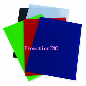 Black red blue green white A4 Plastic Acrylic Plexiglass Perspex 210mm 297mm 2mm