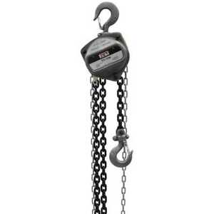 Jet 101922 1 1 2 ton Hand Chain Hoist With 20 Lift New