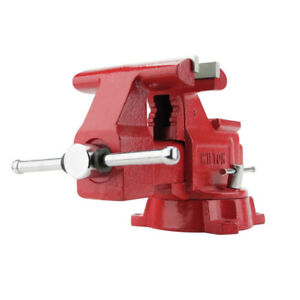 Jet 4 1 2 In X 4 In Utility Vise W replaceable Jaw Insert 11126 New