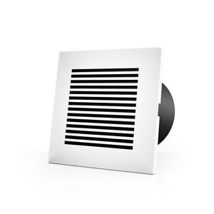 Wall mount Duct Grille For 4 inch Ducting Heating Cooling Ventilation Exhaust