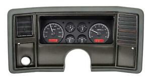 Dakota Digital 78 88 Chevy Monte Carlo Analog Gauges Black Red Vhx 78c Mc K R