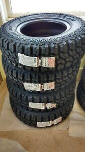 4 New Mud Claw Extreme M t Tires 235 75 15 235 75r15 2357515 Load C