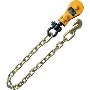 2t Snatch Block Tow Chain For Tow Truck Rollback Carrier Wrecker Hauler