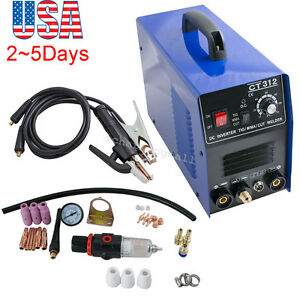 usa Ct312 Tig mma Air Plasma Cutter Welder Welding Torch Machine Ac 110v