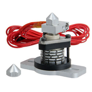 Reprap Hotend V2 0 0 35mm 0 4mm Nozzle 3mm Filament 3d Printer Prusa Mendel