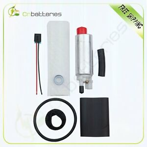 New Universal Low Pressure Electric Fuel Pump With Installation Kit E3210