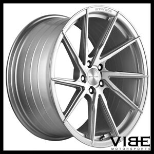 20 Stance Sf01 Silver Forged Concave Wheels Rims Fits Hyundai Genesis Coupe