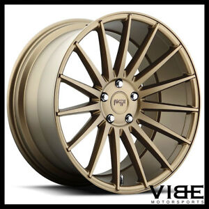 20 Niche Form Bronze Concave Wheels Rims Fits Ford Mustang Gt